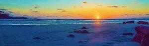 壱岐の夕日
