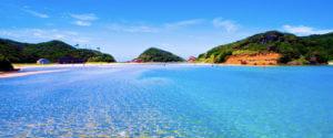 壱岐島の海