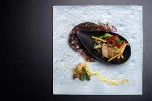 海里の料理